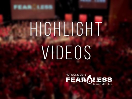 Horizons 2016 – Fear.Less Highlights