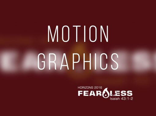 Fear.Less Motion Graphics [Playlist]