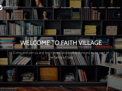 Faith Village Website
