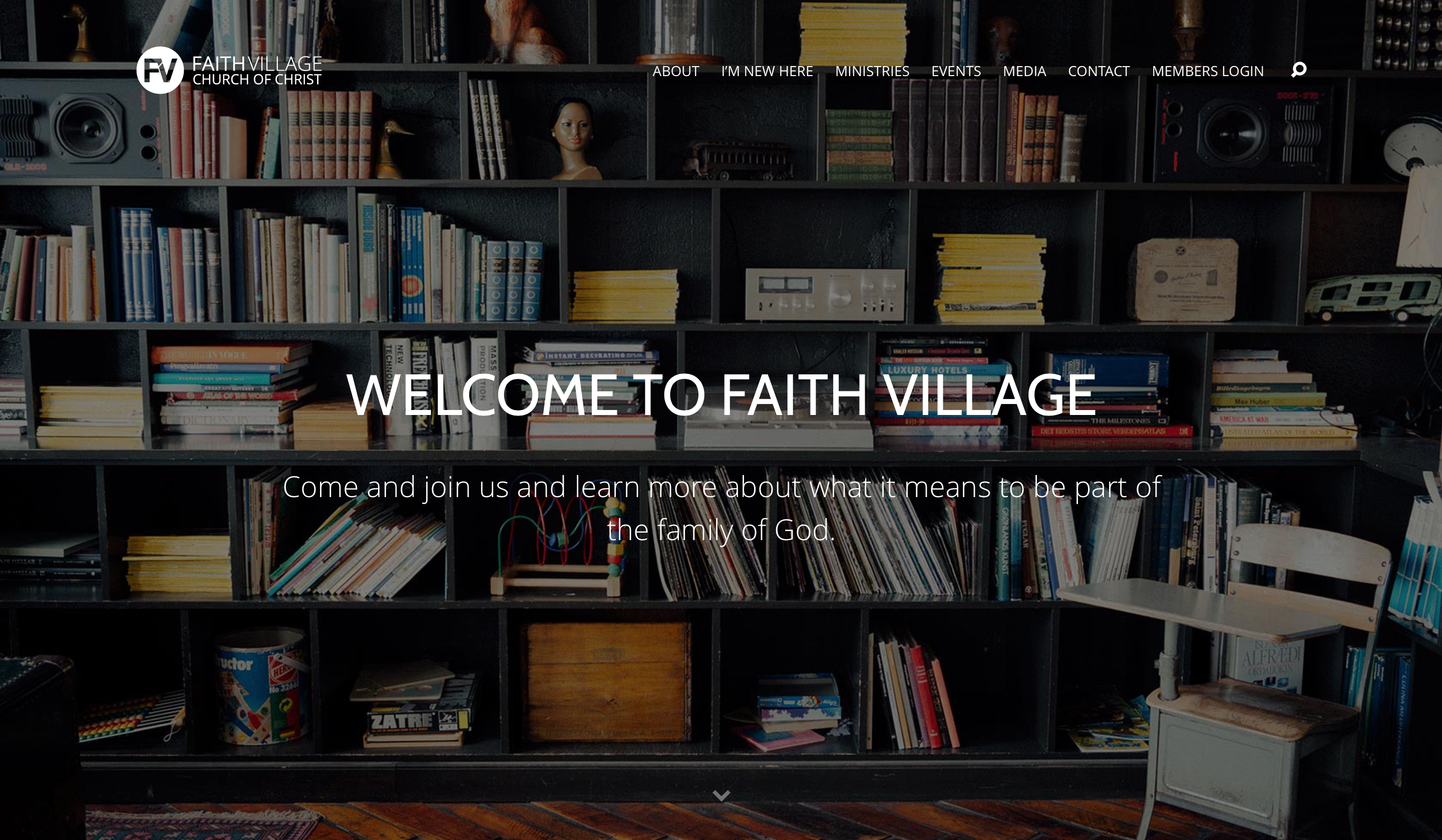 Faith Village Website - Home