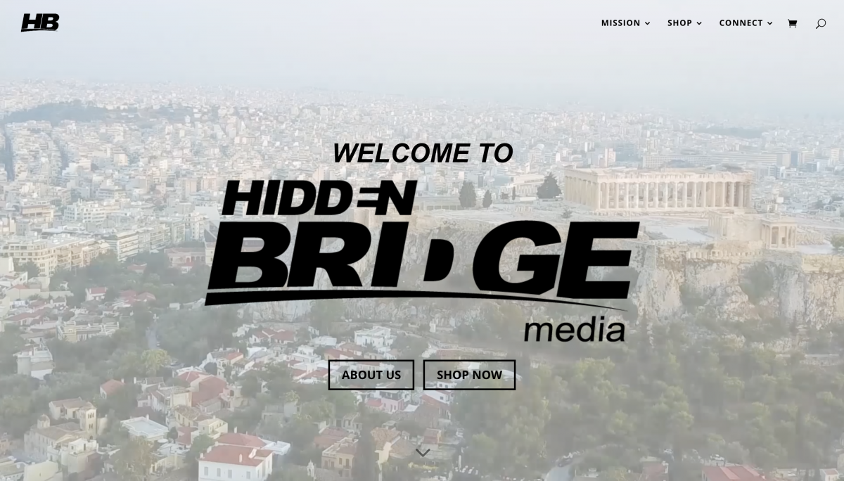 Hidden Bridge Media Website